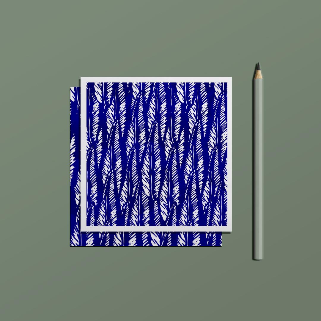 ensemble carte postale love letter et enveloppe ornement